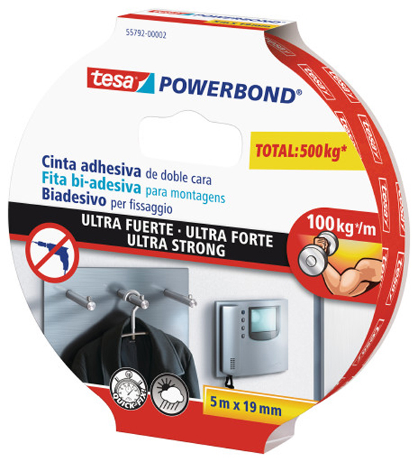 CZ 10322110 Cinta db cara ultra fuerte TESA 5mx19mm 55792-00002-01