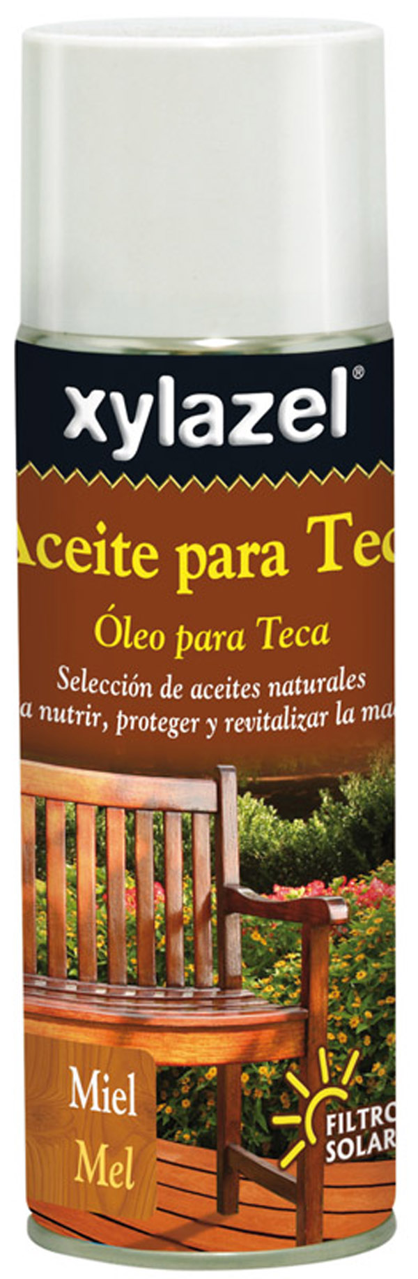 CZ 50001221 Aceite para teca spray miel XYLAZEL 400ml 630333