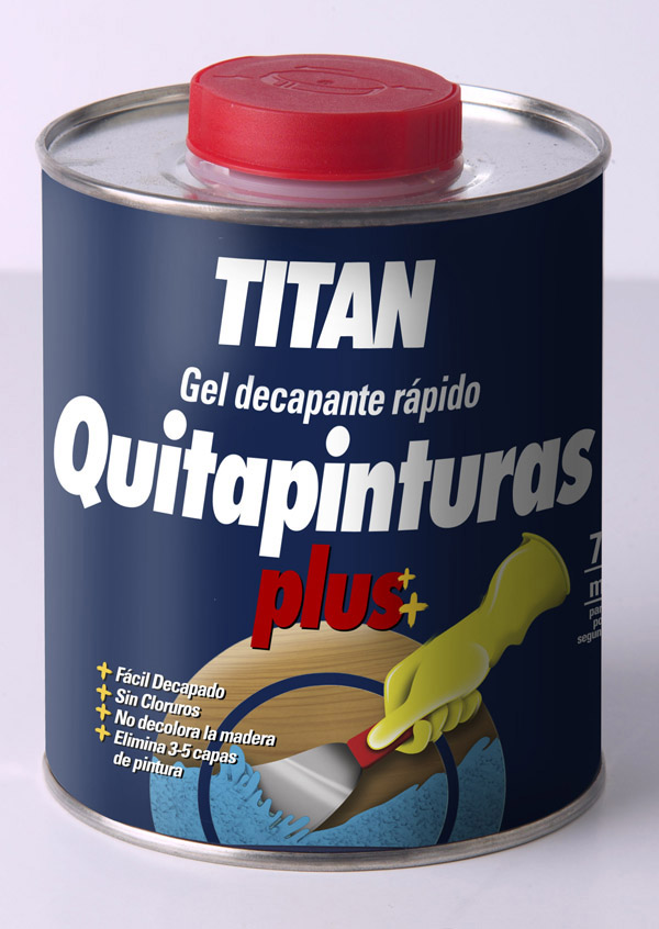 CZ 53660662 Quitapinturas plus TITAN 750ml 05D000134