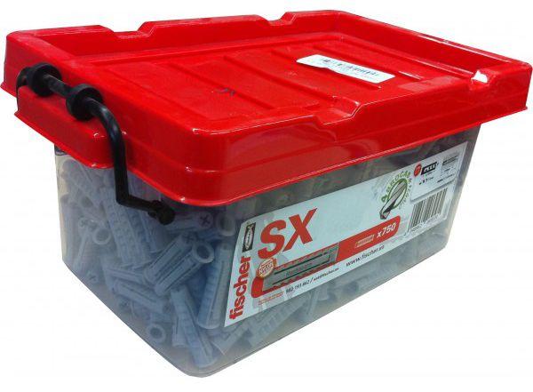 FISCHER 503313 Box Taco Nylon SX 6X30-1.000 uds