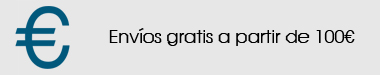 Portes gratis en pedidos de 100 euros